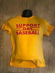 Chicago Cubs Support Day Baseball No Lights In Wrigley Field Retro Shirt 8-8-88 $18.00
