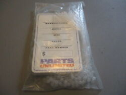 Nos Parts Unlimited Hang Tags And Tagger Locs 100 Pack W/ties Dis28