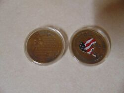 Challenge Coin United States Coast Marine Corps Wives Toughest Job In Usmc Heart