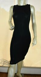 Velvet Torch Black Bodycon Dress Size M New $18.00