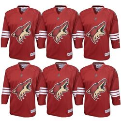 Arizona Coyotes Nhl Reebok Infant18m Red Official Replica Home Jersey Bulk Lot