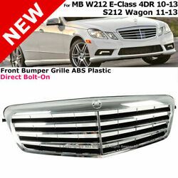For 10-13 Mercedes-benz   Front Bumper Radiator Grille W212 E Class S212 Wagon