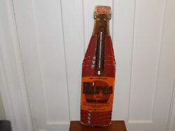 Vintage Hires Root Beer Bottle Thermometer Sign