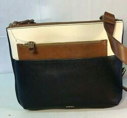 NWT Fossil Marissa Leather Black Bag Crossbody amp; Clutch SHB2329016 MSRP $168 $57.88