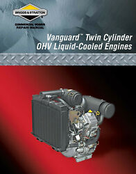Briggs And Stratton Vanguard Twin Cylinder Ohv Lc Engine Repair Manual 275429-1/04
