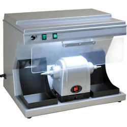Dental Lab Polishing Lathe Compact Unit Vacuum Built-in Suction Dust Collector