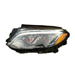 Led Headlight Lens And Housing Lh 1668201159 Fits 2016-17 Mercedes-benz Gle300d