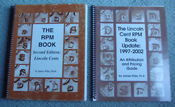 Lincoln Cent Rpm Error Coin Books Set 2nd Edition+update Ed. By Wiles 325+pgs