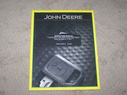 John Deere Used 550 Tiller For 4200 - 4500 Compact Tractor Operators Manual A7