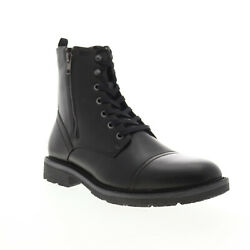 Unlisted by Kenneth Cole Design 30305 Mens Black Casual Dress Boots Shoes