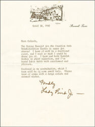 Lady Bird Johnson - Typed Letter Signed 04/30/1982
