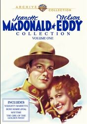 Jeanette Macdonald And Nelson Eddy Collection Volume One 1 New Dvd 4 Films