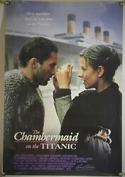 The Chambermaid On The Titanic Rolled Orig 1sh Movie Poster Bigas Luna 1997