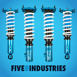 For 86-92 Mazda Rx-7 Five8 Industries Height Adjustable Non Dampening Coilovers