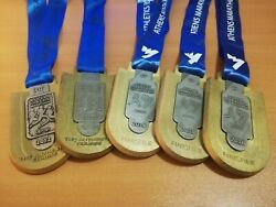 Greece Athens Marathon The Authentic Cource Medal 30th-31th-32th-33th-34th