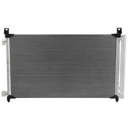 Condenser For 2014-2019 Nissan Rogue 2.0l 2.5l A/c Cooling Assembly 92100-aba2a