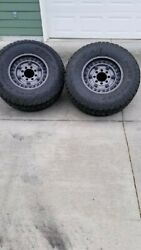 17 Black Rhino Armory Rims And Toyo A/t Tires, Less Than 1k Miles, Like New.