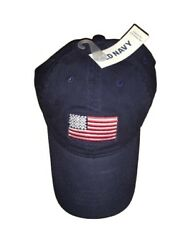 Old Navy American Flag Ball Cap in Navy One Size New wTAGS