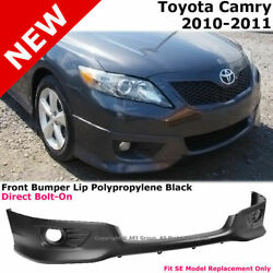 For 10-11 Toyota Camry | Se Style Front Bumper Lower Lip Spoiler Valance