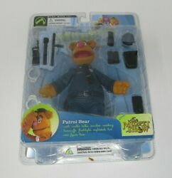 Patrol Bear Fozzie Series 6 The Muppet Show Palisades Toys Moc