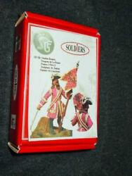 Sgf Miniatures Soldiers - French Dragoons Standard Bearer 1704-12 Sp-5b New