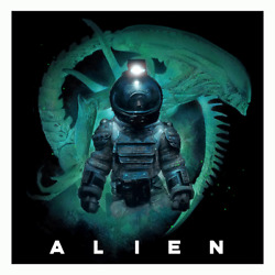 Alien First Contact Limited Edition Rare Giclee Print