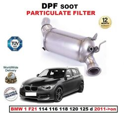 Dpf Diesel Soot Particulate Filter For Bmw 1 F21 114 116 118 120 125 D 2011-on