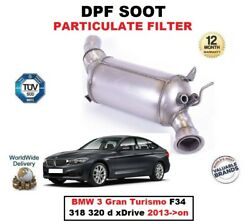 Dpf Diesel Soot Particulate Filter For Bmw 3 Gran Turismo F34 318 320 D 2013-on