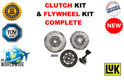 For Peugeot 2008 Est Sw 1.6hdi 114 2013-on New Dual Mass Flywheel + Clutch Kit