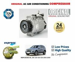 For Mercedes Ml 280 320 420 Cdi 2005-2009 Eo Ac Air Conditioning Compressor
