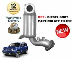 For Jeep Patriot 2.0 Crd 2007-2011 New Dpf Diesel Soot Particulate Filter