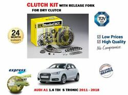 For Audi A1 1.6 Tdi S Tronic 2011-2018 Dry Clutch Kit Complete + Release Fork
