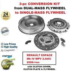 For Renault Espace Mk Iv Mpv 2.0dci 2006-on Brand New Clutch Conversion Kit