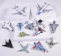 13 Vintage Diecast Toy Airplanes Nasa Shuttle Air Force One Stealth Delta
