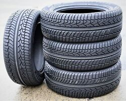 4 New Forceum Heptagon Suv 255/55r18 109v Xl A/s Performance Tires