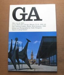 Global Architecture - Mies Van Der Rohe - 1st Pb 1968 - Crown Hall - Japanese