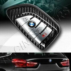 Real Carbon Fiber Remote Key Shell Cover Case Fit Bmw 1/2/5/7-series G11 G12 G30