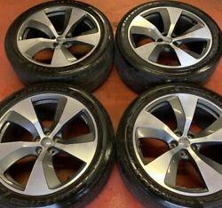 21andrdquo Genuine Audi Q7 / Sq7 Wheels And Tyres Ser Of 4