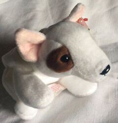 Ty  Beanie Babies Rare Butch the Bull Terrier Plush With Tag Errors