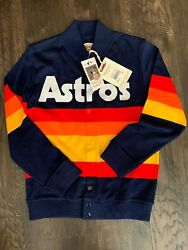 Mitchell And Ness Houston Astros Sweater