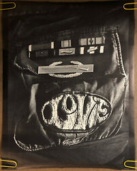 Original Vintage Poster Love Anti-war Peace Pinup Us Soldier Jacket Patches Army
