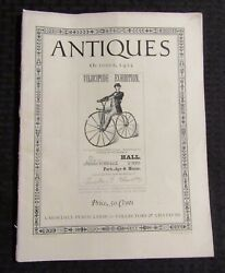1925 Oct Antiques Magazine V.8 4 Vg+ 4.5 Collector's And Amateurs