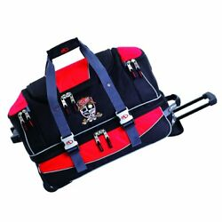 Marker 21-inch Carry On Wheeling Duffel Red - New With Tags