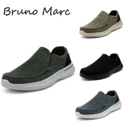 Bruno Marc Men#x27;s Slip On Sneakers Walking Loafers Sidewalk Canvas Casual Shoes