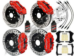 Jeep Wrangler Jl Wilwood 14 Front And Rear Big Brake Kit With Lines And Fluid