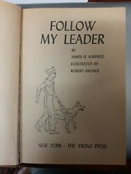 Follow My Leader By James B. Garfield Rare 1958 Weekly Reader Edition