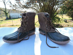 Marley Lilly Monogrammed Women#x27;s Duck Boots Size 9 $45.00