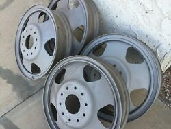 Very Rare 1930 - 34 Chevy 19 1 1/2 Ton Chevy Wheels Antique