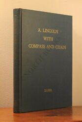 A. Lincoln With Compass And Chain By Adin Baber - Signed - Limited Printing