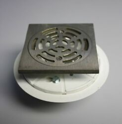 Sioux Chief Shower Pan Drain With Nickel-bronze Metal Ring And Strainer